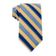 Stafford® Stripe Silk Tie - Extra Long