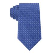 Stafford® Ellis Neat Silk Tie - Extra Long