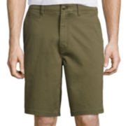 St. John's Bay® Comfort Stretch Chino Shorts
