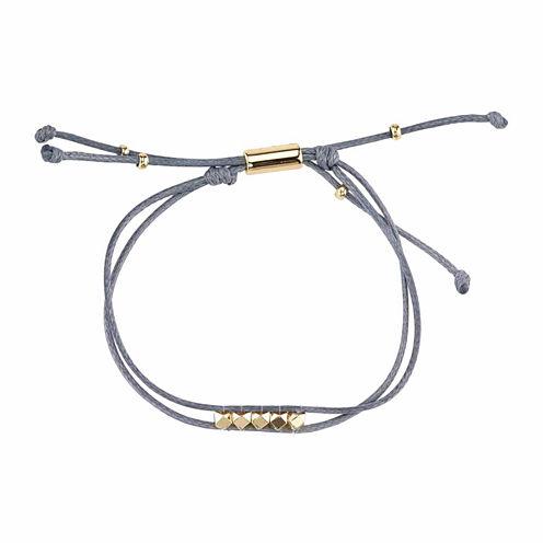 Bridge Jewelry Womens Silver Over Brass Wrap Bracelet