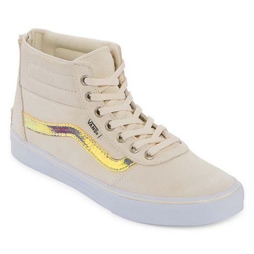 Vans® Milton High Top Zip Womens Skate Shoes
