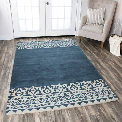 Rizzy Home Marianna Fields Ornamental Rectangular Rugs