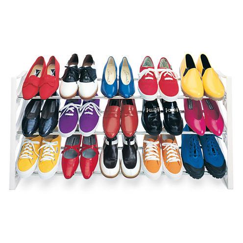 LYNK® 15-Pair Shoe Rack