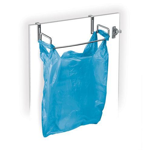 LYNK® Over-the-Door Chrome Bag Holder