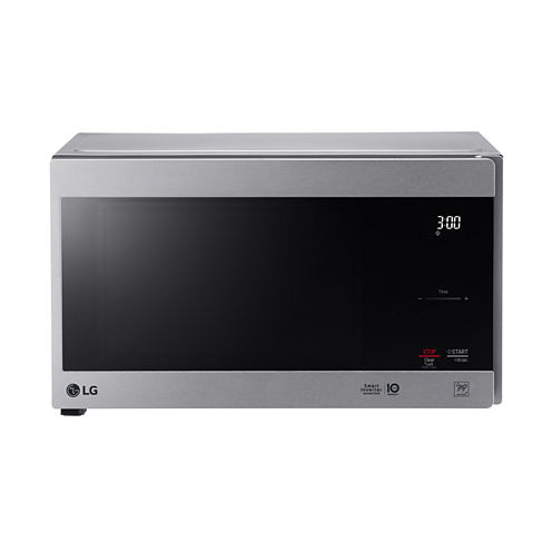 Lg 0 9 Cu Ft Countertop Microwave Oven With Hexagonal
