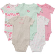 Carter's® 5-pk. Bodysuits - Girls newborn-24m