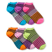 6-pk. Print Low-Cut Socks