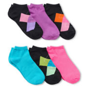 6-pk. Argyle Low-Cut Socks