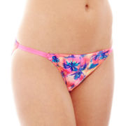 Flirtitude® Ruched Back Bikini Panties