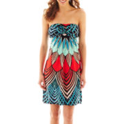 nicole by Nicole Miller® Strapless Twist Dress