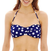 Arizona Polka Dot Bandeau Swim Top