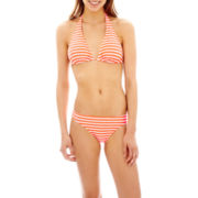 Arizona Striped Slider Halter Swim Top or Hipster Bottoms
