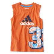 adidas® Sleeveless Graphic Tee - Boys 2t-7x