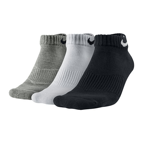 Nike® 3-pk. Performance Cotton Low-Cut Socks