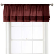 Royal Velvet® Crushed Voile Tailored Pleated Valance