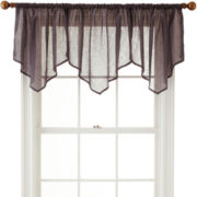 Royal Velvet® Crushed Voile Ascot Valance
