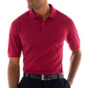 Haggar® Mini Box Polo Shirt