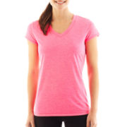 Xersion™ Short-Sleeve Melange Tee - Petite