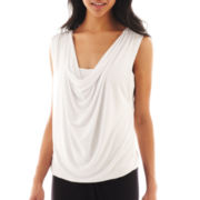Bisou Bisou® Sleeveless Bubble Top