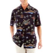 Island Shores™ Short-Sleeve Printed Shirt