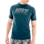 Nike® Tiles Dri-FIT Swim Top
