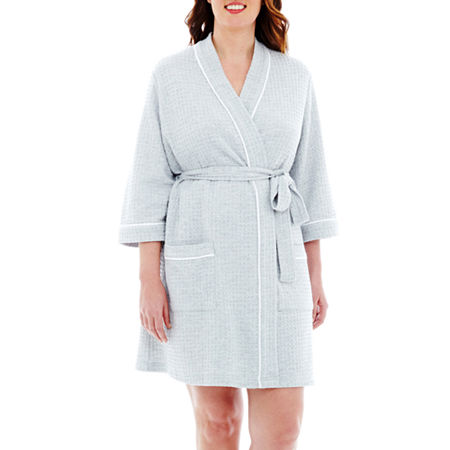 Liz Claiborne Spa Robe - Plus