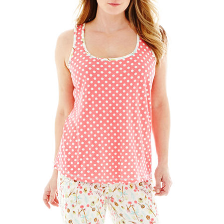 Insomniax Lace-Accented Sleep Tank Top - Plus