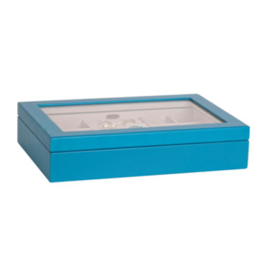 jcpenney.com | Mele & Co. Cassidy Blue Jewelry Box