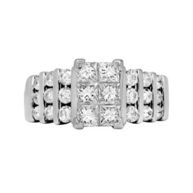 jcpenney.com | LIMITED QUANTITIES 2 CT. T.W. Diamond 14K White Gold Engagement Ring