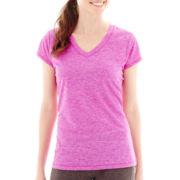 Xersion™ Short-Sleeve Melange T-Shirt- Tall