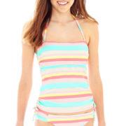 Arizona Striped Bandeaukini Swim Top - Juniors