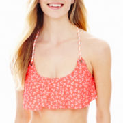 Arizona Anchor Print Hanky Swim Top - Juniors