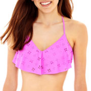 Arizona Flounce Bralette Swim Top - Juniors