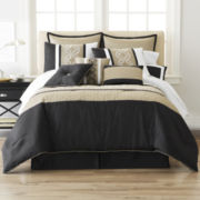 Home Expressions™ Cambria 10-pc. Comforter Set & Accessories