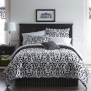 Home Expressions™ Regal Damask Complete Bedding Set with Sheets Collection