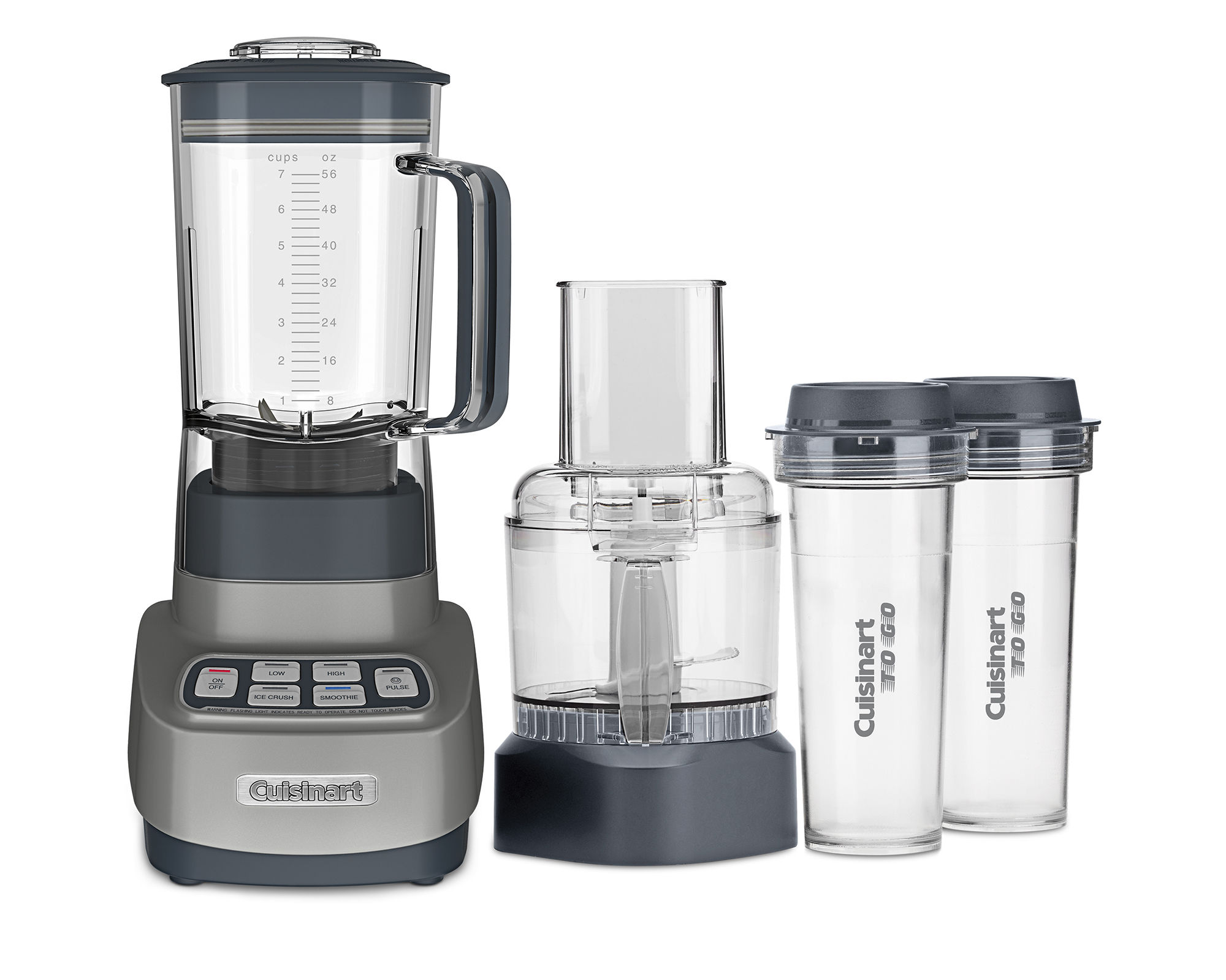 Cuisinart Velocity Ultra Trio 1-HP Blender\/Food Processor with Travel Cups