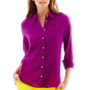 Stylus™ Long-Sleeve Relaxed-Fit Essential Shirt