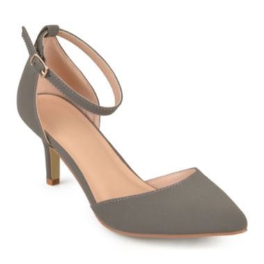 jcpenney.com | Journee Collection Ike Suedette Ankle-Strap Pumps