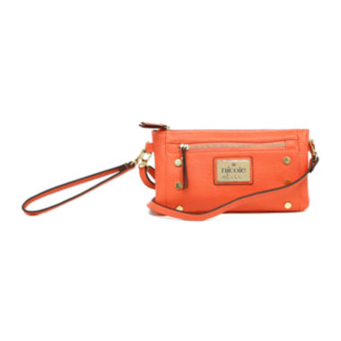 jcpenney.com | nicole by Nicole Miller® Mally Triple Pouch Wristlet Crossbody Bag