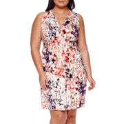 a.n.a® Sleeveless Sundress - Plus