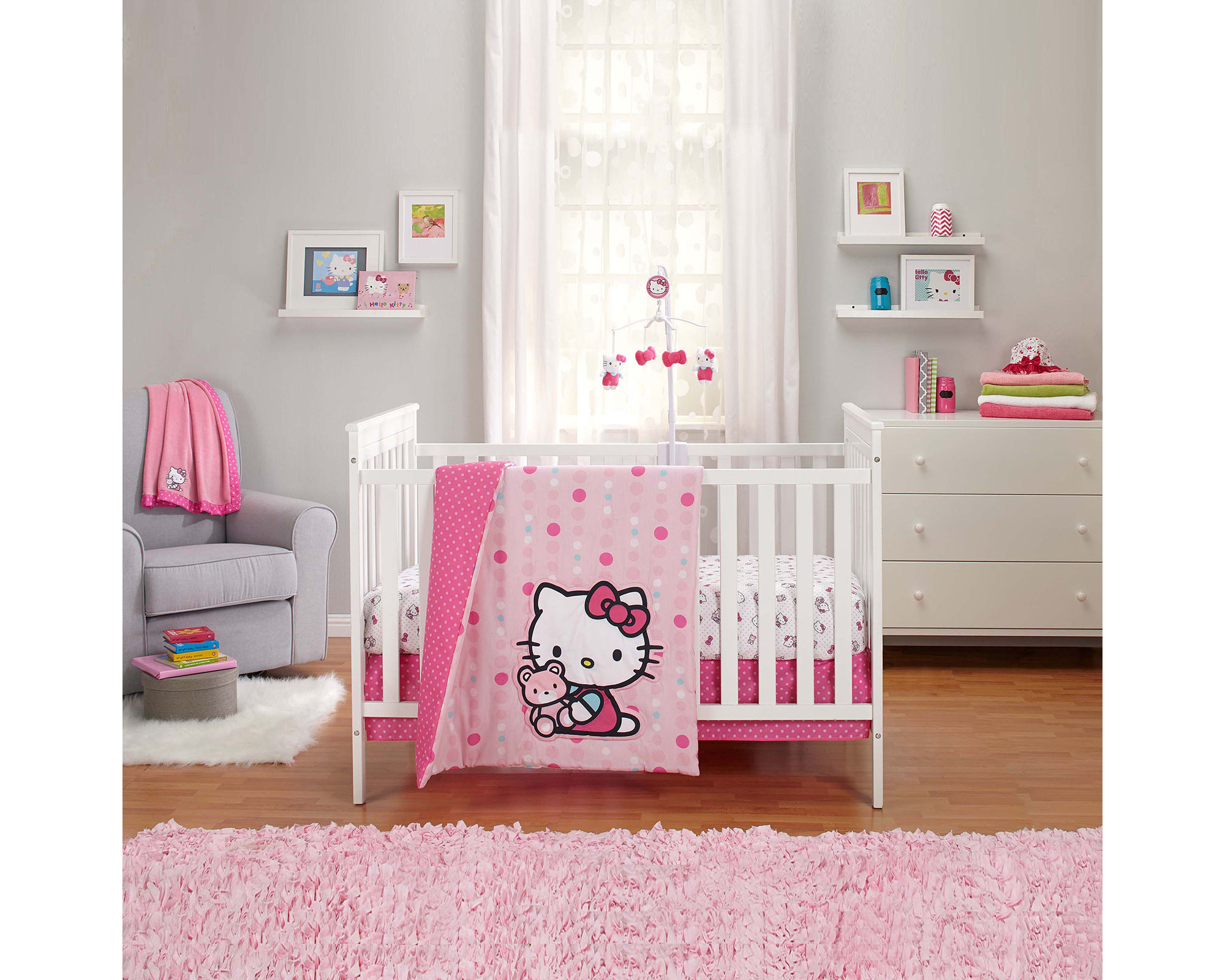 NoJo Sanrio Hello Kitty 3-pc. Bedding Set