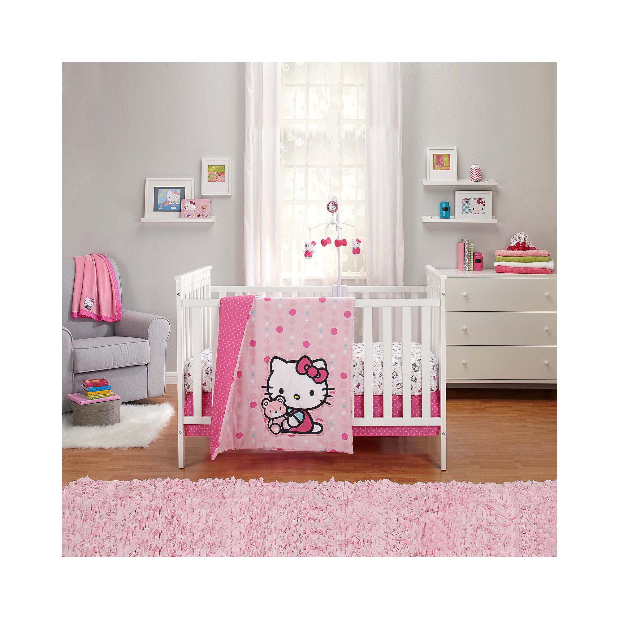 NoJo Sanrio Hello Kitty 3-pc. Bedding Set