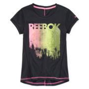 Reebok® Short-Sleeve High-Low Tee - Girls 7-16
