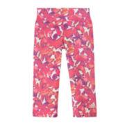 adidas® Floral-Print Capris - Girls 7-16