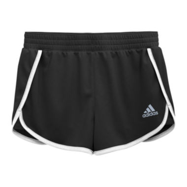 jcpenney.com | adidas® Contrast-Trim Knit Shorts - Girls 7-16
