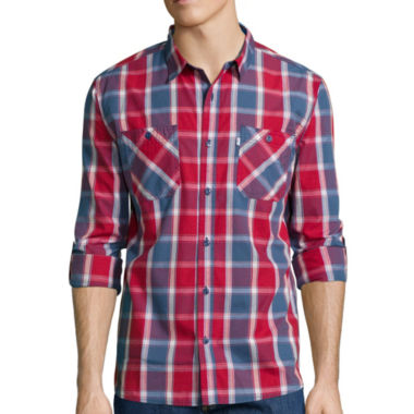 jcpenney.com | Levi's® Beier Long-Sleeve Woven Shirt