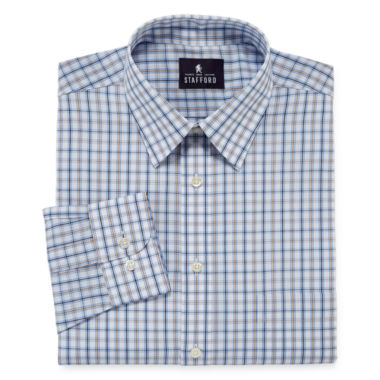 jcpenney.com | Stafford® Travel Performance Super Shirt - Big & Tall Long-Sleeve Dress Shirt