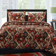 Greenland Home Fashions Folk Festival Quilt Set & Accessories