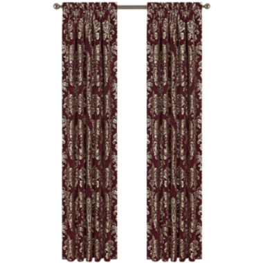 jcpenney.com | Queen Street® Distinction 2-Pack Rod-Pocket Curtain Panels