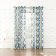 Keone Grommet-Top Curtain Panel